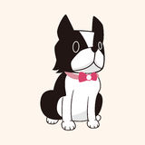 Animal dog flat icon elements, eps10 Stock Photos