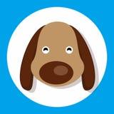 Animal dog. Icon set design for dynamic web display Royalty Free Stock Photo