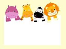 Animal dos desenhos animados Imagens de Stock