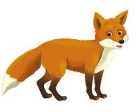 Animal dos desenhos animados - ilustração para as crianças ilustração stock