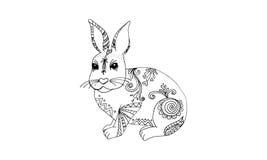 Animal draw for antistress Royalty Free Stock Photos