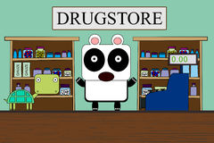 An animal drugstore Royalty Free Stock Photography