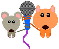 Animal duet Stock Photos