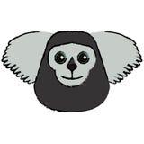 Animal el Brasil del saki del dibujo stock de ilustración
