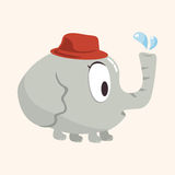 Animal elephant flat icon elements, eps10 Royalty Free Stock Photography