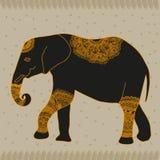 Animal elephant. Vector graphic illustration design art Stock Image