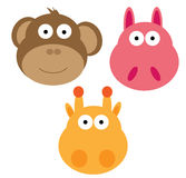 Animal Face Royalty Free Stock Images
