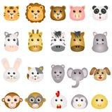 Animal Face Vector Royalty Free Stock Photo