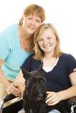 Animal familier de famille Photo libre de droits