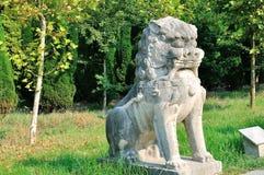 Animal familier en pierre Image libre de droits