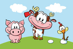 Animal farm Royalty Free Stock Image
