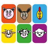 Animal farm Royalty Free Stock Photography