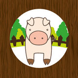 Animal farm design. Illustration eps10 graphic Stock Photos
