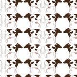 animal farm pattern background Royalty Free Stock Photography