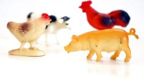 Animal farm toys Stock Photos