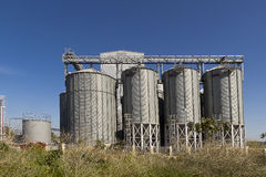 Animal feed mill Stock Photo