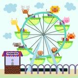 Animal Ferris wheel Stock Photos
