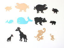 Animal figurines Royalty Free Stock Images