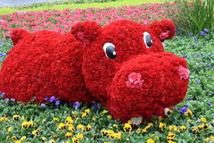Animal flower design Stock Photo