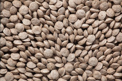 Animal food pellets. Background texture Royalty Free Stock Images
