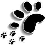 Animal footprints. Vector Stock Photos