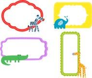 Animal and frame Stock Image