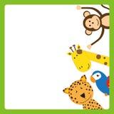 Animal frame Royalty Free Stock Image