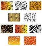 Animal fur and skin Royalty Free Stock Photos