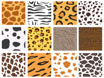 Animal fur texture nature abstract wildlife background wild furry hair seamless pattern natural material africa striped Stock Images