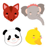 Animal Heads 3 Royalty Free Stock Photo