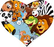 Animal with heart shape Royalty Free Stock Photo