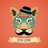 Animal hipster portrait Royalty Free Stock Photos