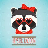 Animal hipster portrait Royalty Free Stock Photo