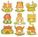 Animal houses (vector illustration) Stock Image
