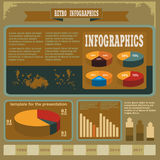 Animal husbandry infographic, agriculture, , flat design, elements Royalty Free Stock Images