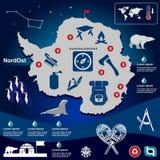 Animal husbandry infographic, agriculture, , flat design, elements Stock Image