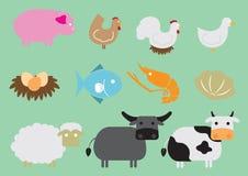 Animal icon. Cute animal icon set - Illustration Stock Images