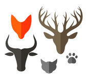Animal. Icon Set Stock Photos