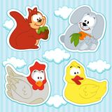 Animal icon set Stock Image