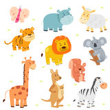 Animal Icon Sets stock illustration