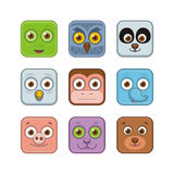Animal icons. Over white background. vector illustration vector illustration