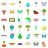 Animal icons set, cartoon style. Animal icons set. Cartoon style of 36 animal vector icons for web isolated on white background Stock Photography