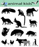 Animal kids Royalty Free Stock Photo