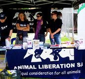 Animal Liberation SA Royalty Free Stock Photos