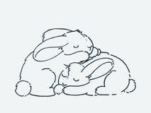 Animal lindo de la historieta El ejemplo del clip art del vector para los ni?os dise?a, las tarjetas, impresiones, libros de colo stock de ilustración