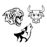 Animal logo Stock Photo