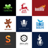 Animal logos Royalty Free Stock Photos