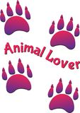 Animal Lover Royalty Free Stock Photography
