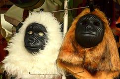 Animal Mask. Monkey, toys mask. gorilla mask Royalty Free Stock Photography