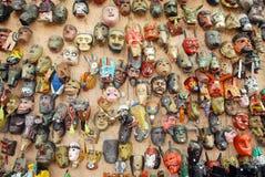 Animal masks royalty free stock photography